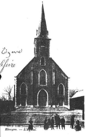 Eglise paroissiale Saint-Martin d'Elouges Centre (Elouges-au-Val)