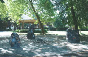 Fontaine du Parc communal de Dour