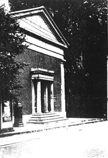 Second temple protestant de Dour