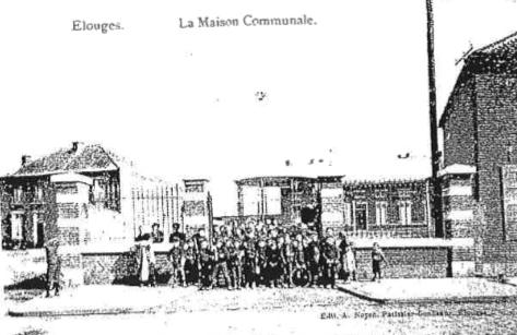Maison communale d'Elouges