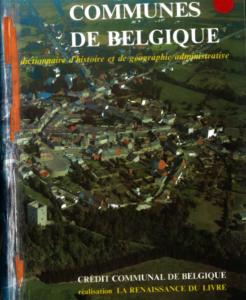 Hervé Hasquin - Communes de Belgique : dictionnaire
