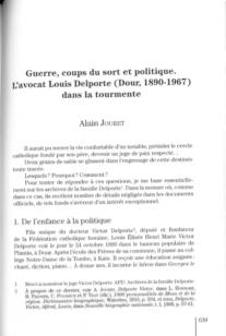 Alain Jouret - L'avocat Louis Delporte