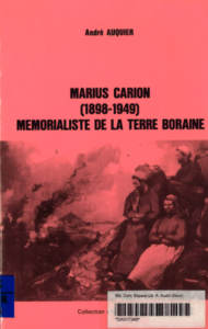 André Auquier - Marius Carion