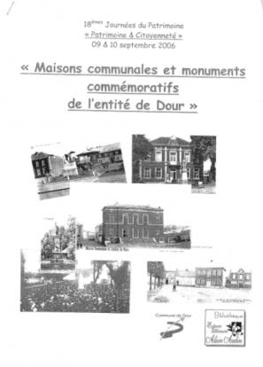 Bibliothèque communale de Dour - Maisons communales et monuments commémoratifs de l'Entité de Dour