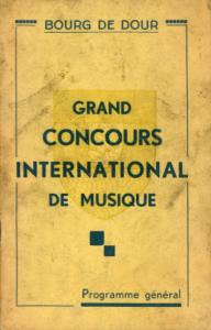 Bourg de Dour - Grand concours international de musique