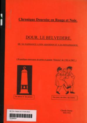 Claude Duray - Chronique douroise en rouge et noir : le Belvédère