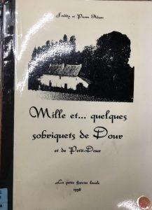 Freddy et Pierre Adam - Mille et quelques sobriquets de Dour et de Petit-Dour