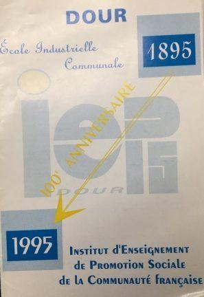 Institut d'enseignement de promotion sociale de la Communauté française - Dour - école industrielle communale