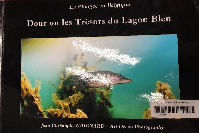 Jean Christophe Grignard - La plongée en Belgique : Dour ou les trésors du Lagon Bleu