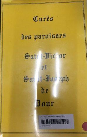 Jeanne Preux-Quin - Curés des paroisses Saint-Victor et Saint-Joseph de Dour