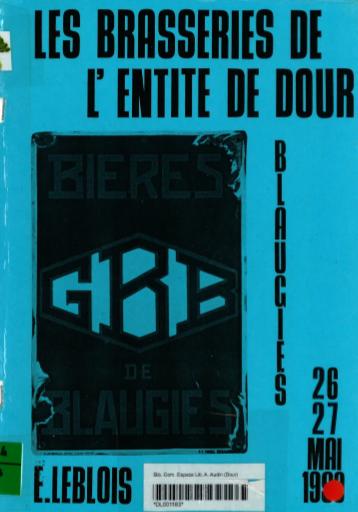 Eric Leblois - Les brasseries de l'Entité de Dour