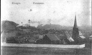 Panorama d'Elouges et de son église