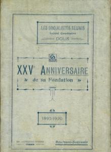 Victor Serwé - Société coopérative Les Socialistes Réunis de Dour