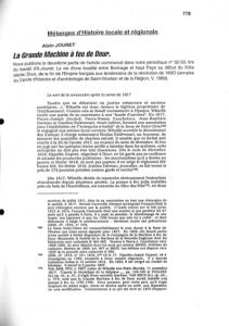 Alain Jouret - La Grande Machine à Feu de Dour