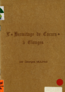 Georges Mulpas - L'hermitage de Cocars à Elouges