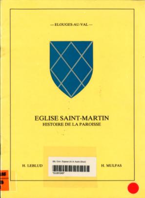 Hugo Leblud et Hélène Mulpas - Eglise Saint-Martin