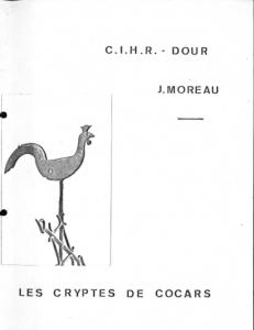 Jacques Moreau - Les cryptes de Cocars