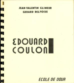 Jean-Valentin Glineur et Gérard Delfosse - Edouard Coulon