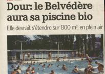 Dour : le Belvédère aura sa piscine bio