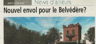 Nouvel envol pour le Belvédère