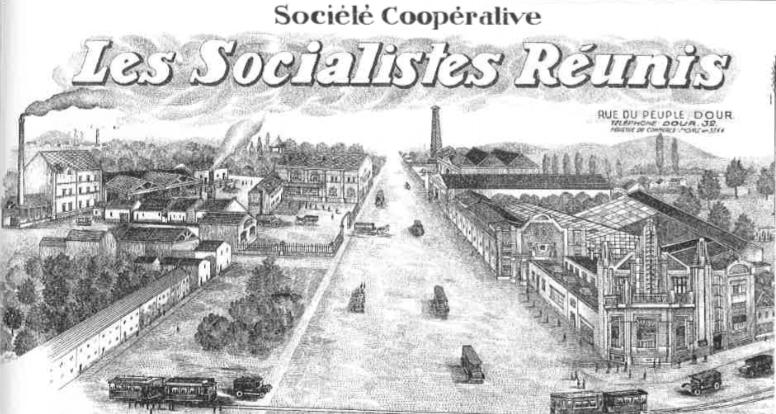 Coopérative Les Socialistes Réunis de Dour (après fusion)
