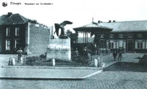 Kiosque d'Elouges - Monument aux morts d'Elouges