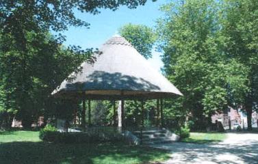 Kiosque du Parc communal de Dour