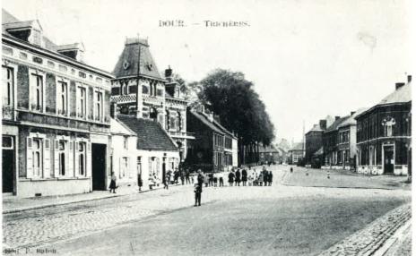 Quartier de Trichères à Dour