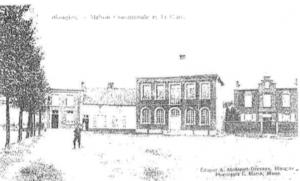 Maison communale de Blaugies