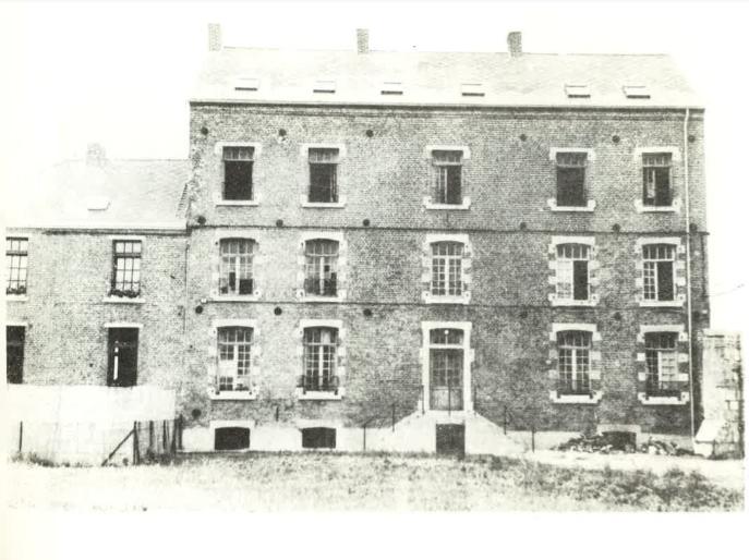 Château de Belle-Vue - les bureaux de la concession à Elouges