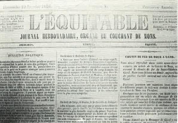 Journal L'Equitable de Dour