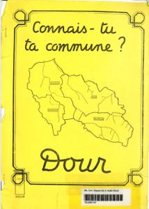 Bibliothèque communale de Dour - Connais-tu ta commune?