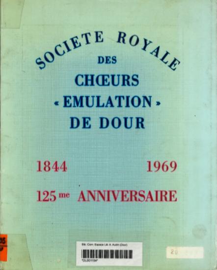 Société Royale des Choeurs Emulation de Dour