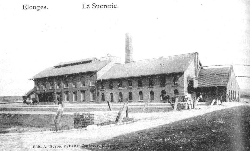 Sucrerie Jouveneau à Elouges