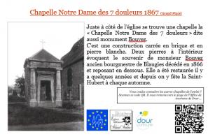 Bibliothèque communle de Dour - Plaquette sur les chapelles et les églises de l'Entité de Dour