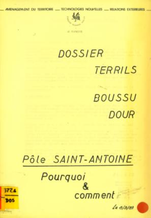 Dossier terrils Boussu-Dour