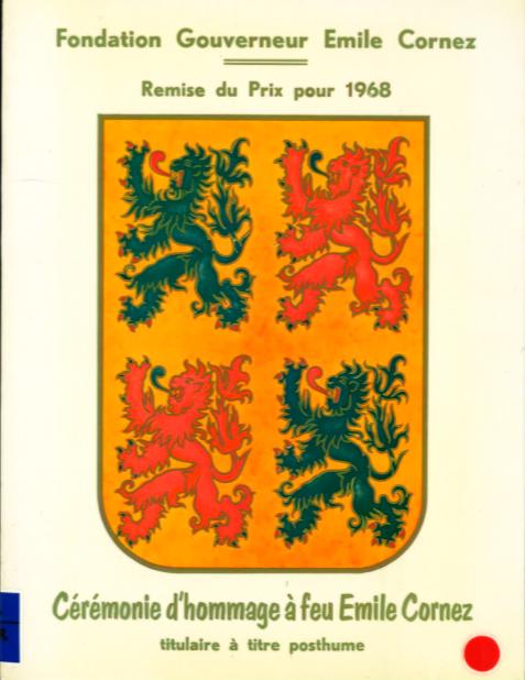 Fondation Gouverneur Emile Cornez