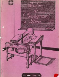 Gilbert Dehon - Histoire de l'enseignement à Dour