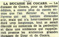 La ducasse de cocars