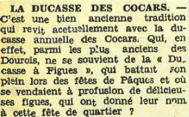 La ducasse des cocars