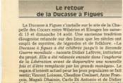 Le retour de la ducasse des figues