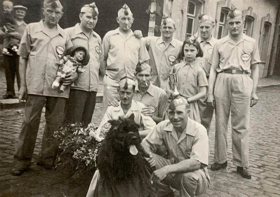 Tirs d'anciens prisonniers en 1957