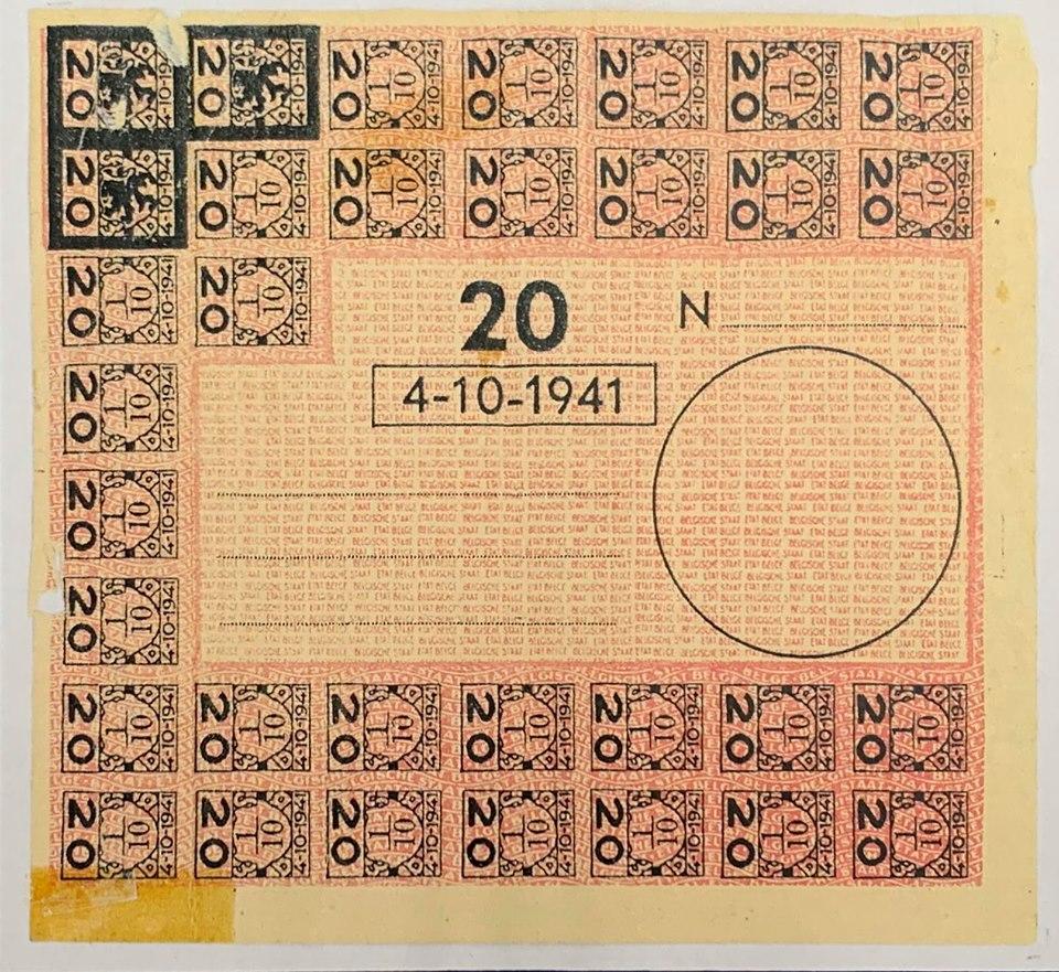 Les timbres de ravitaillement